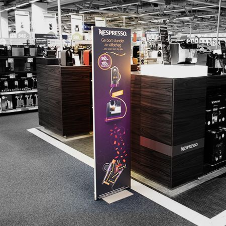 Retail Floor Displays