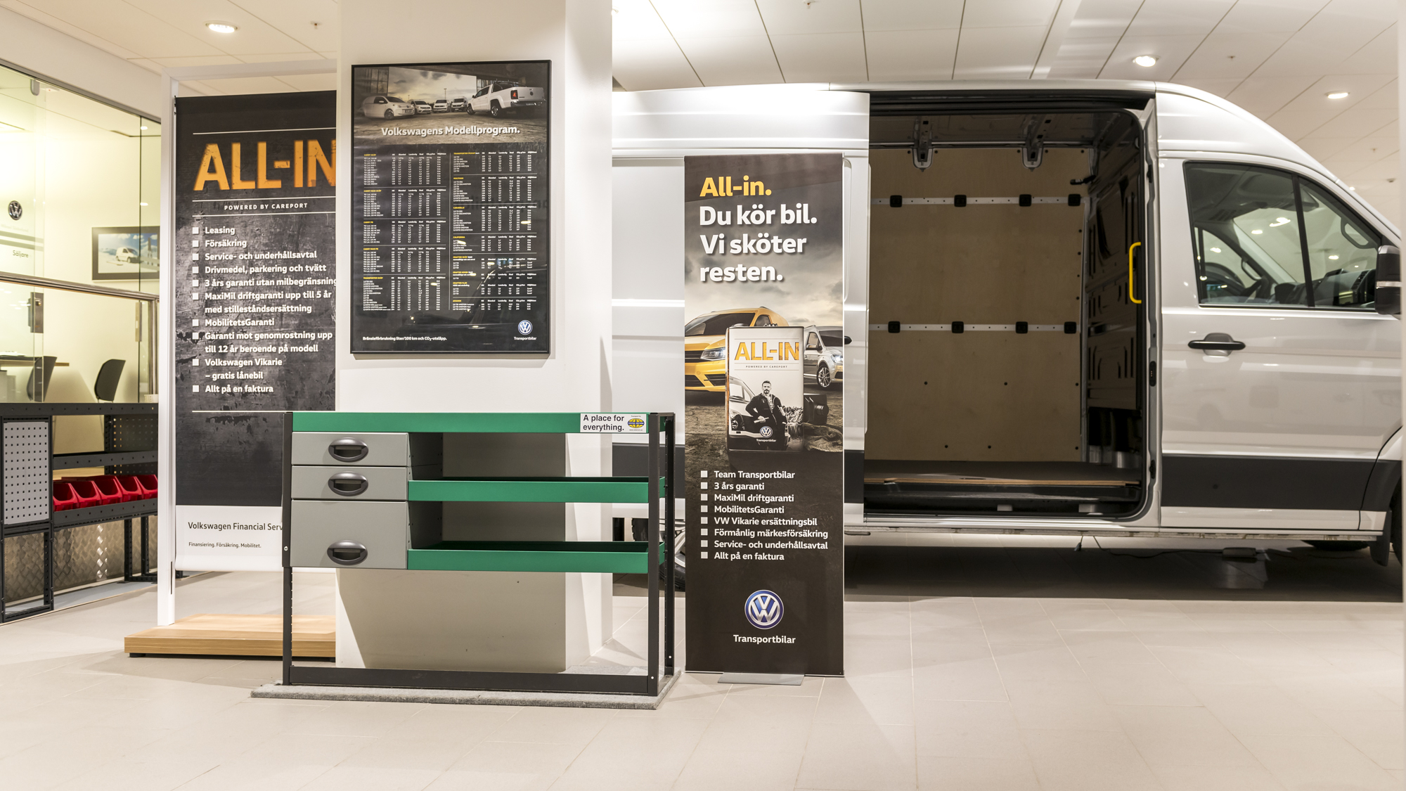 InStore™ Retail Floor Display